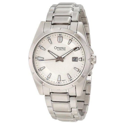 Caravelle by Bulova Men's 43B125 Analog Stainless Watch