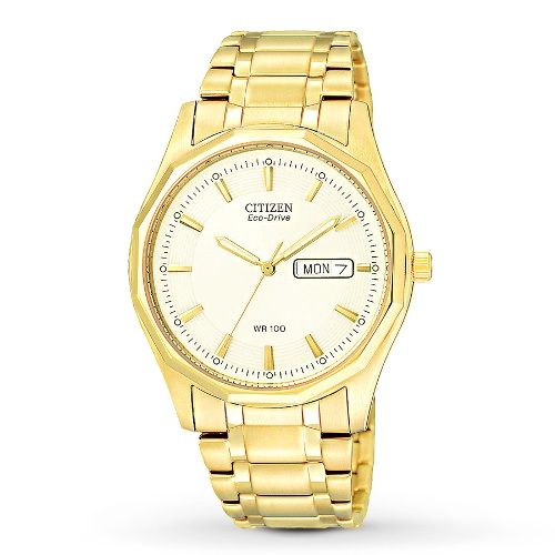 Citizen Men's BM8432-53P Eco Drive Yellow Tone Watch