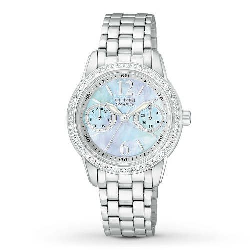 Citizen Women's FD1030-56Y Eco-Drive Silhouette Crystal Watch