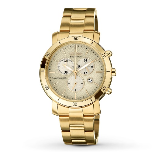 Citizen Women's FB1342-56P Drive from Citizen Eco-Drive AML 3.0 Gold-Tone Stainless Steel Watch