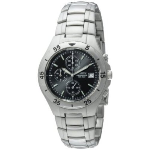 Citizen Men's AN3160-50E Chronograph Stainless Steel Watch