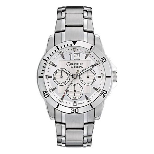 Caravelle by Bulova Men's 43C106 Multifunction New Sport Watch