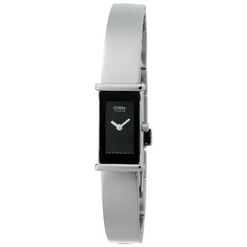 "Citizen Women's EG2450-53E ""Eco-Drive"" Stainless Steel Bangle Watch"
