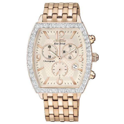 Citizen Women's FB1273-57A Eco-Drive DYT Swarovski Crystal Accented Chronograph Watch