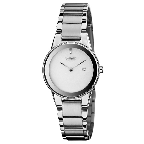 "Citizen Women's GA1050-51A Eco-Drive ""Axiom"" Stainless Steel Watch"