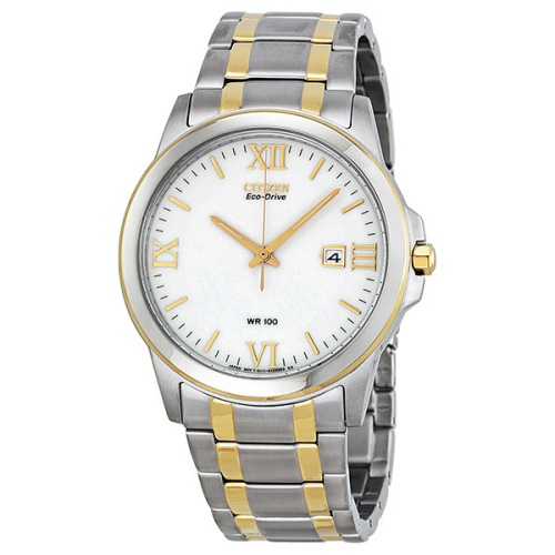 Citizen Men's BM7264-51A Eco-Drive Two-Tone Watch