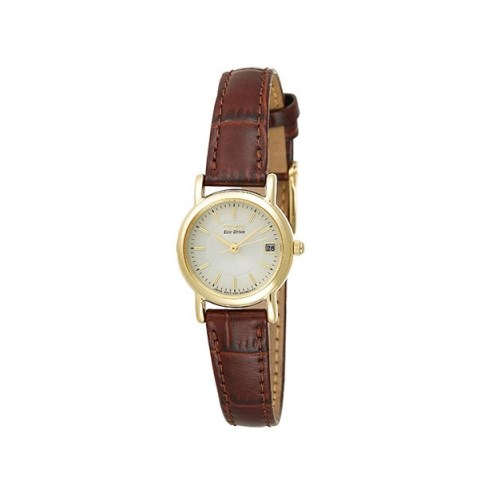 Citizen Women's EW1272-01P Eco-Drive Leather Watch