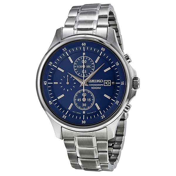 Seiko Chronograph with Date Stainless Steel Men's watch SNDE21