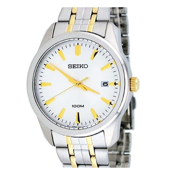 Seiko 3-Hand with Date Stainless Steel Men's watch SGEG08